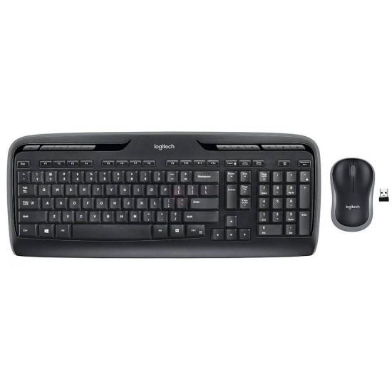 Keyboard and Mouse Logitech MK330 Wireless